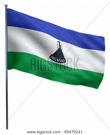 Lesotho Flag Image