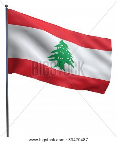 Lebanon Flag Image