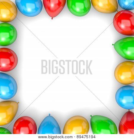 Balloons Frame