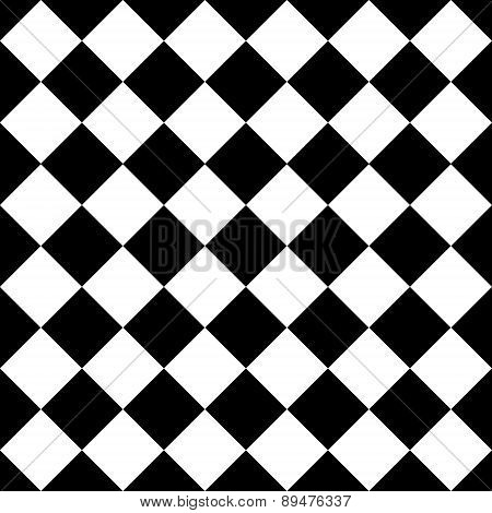 Empty diagonal  chess board, VECTOR, EPS10
