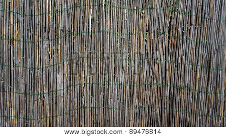 Bamboo Wall Fence Horizontal