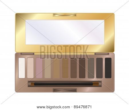 Eyeshadow palette make up