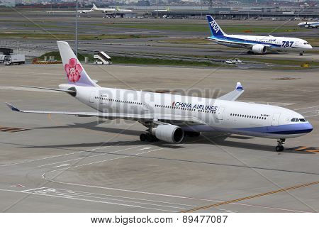 China Airlines Airbus A330-300 Airplane