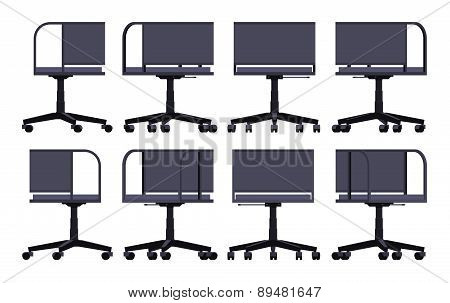 Office spinning chair