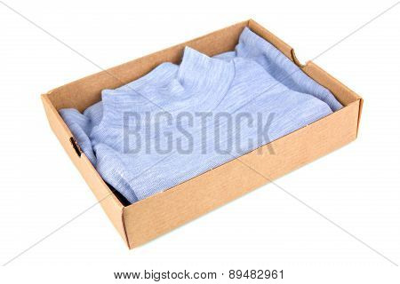 Clothes In Open Container