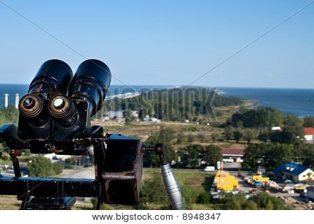 Binoculars And The Aerial View