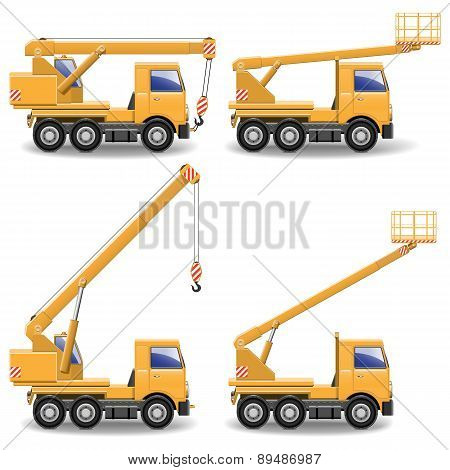 Vector Construction Machines Set 1