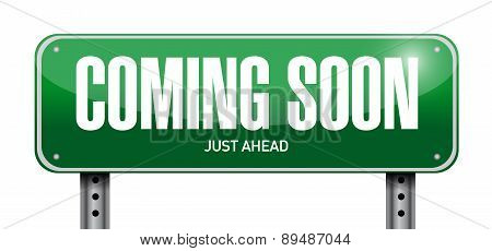 Coming Soon Street Sign Concept