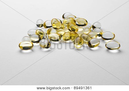 Omega 3 pills - isolated