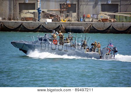 Naval Base navy guard boat