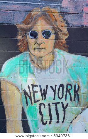 John Lennon Mural
