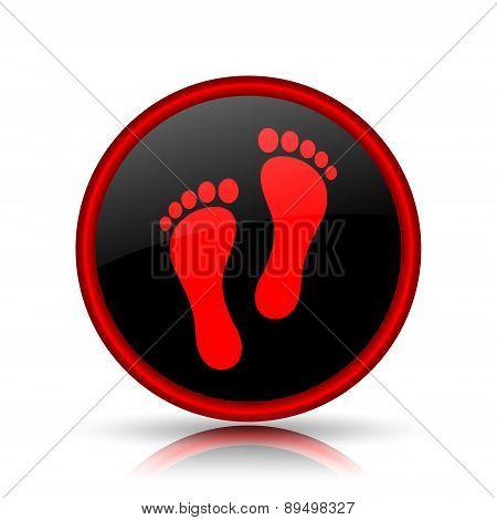 Foot Print Icon