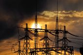 picture of substation  - Electric substations play greater role in lifes mankind - JPG