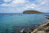 stock photo of crystal clear  - Mediterraneans scene - JPG