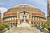 picture of knightsbridge  - Royal Albert Hall at Spring time - JPG