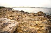 picture of nightfall  - Photo of nightfall in Bugibba in Malta Europe - JPG
