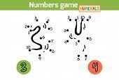 foto of numbers counting  - Numbers game  - JPG