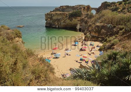 Batata beach Lagos Portugal