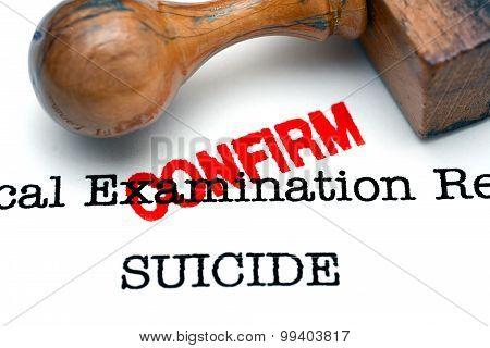 Suicide Confirm