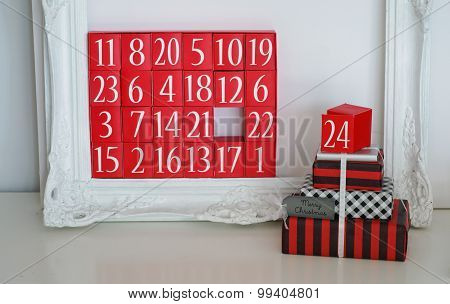 Advent Calendar And Christmas Presents
