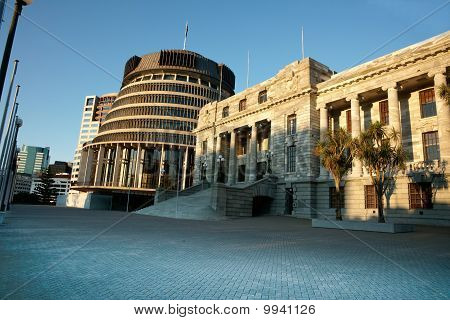 New Zealand's Government buildings.