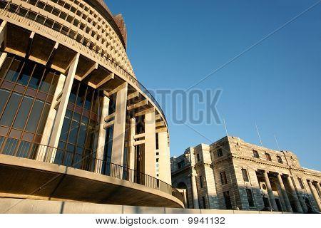 Parliament Buildings, close-up.