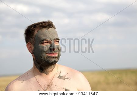 Man With Healthy Mud