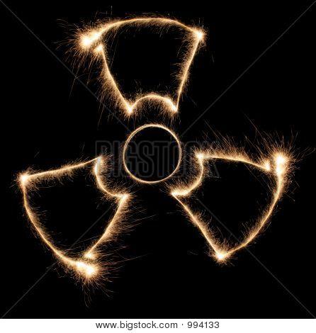 Radiation Sparkler