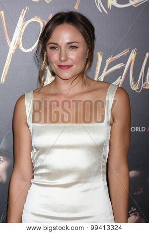 LOS ANGELES - AUG 20:  Briana Evigan at the