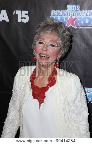 LOS ANGELES - AUG 19:  Rita Moreno at the 2015 Industry Dance Awards and Cancer Benefit Show at the Avalon on August 19, 2015 in Los Angeles, CA
