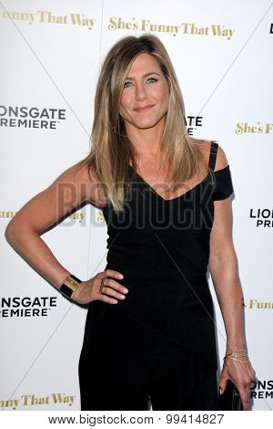LOS ANGELES - AUG 19:  Jennifer Aniston at the