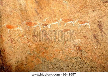 Bushmen Paintings, Namibia