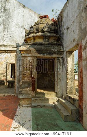 War Damaged Hindu Temple
