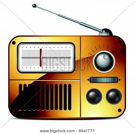 Old fm radio icon