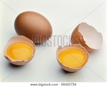 Two Broken Eggs
