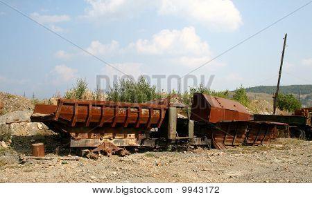 Broken dumpers