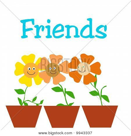 friendly little flowers