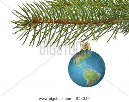 Earth Xmas Ball