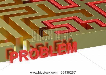 Path Across Labyrinth, Problem Concept