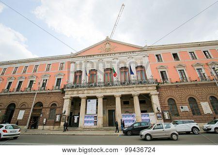 Teatro Comunale Piccinni In Bari, Puglia, Italy