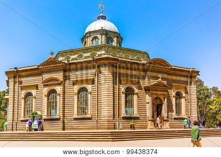 Saint George Cathedral In Addis Ababa