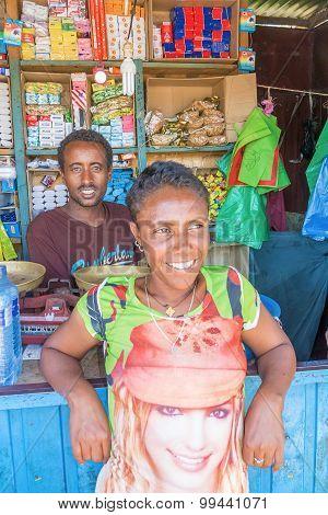 Corner Store In Ethiopia