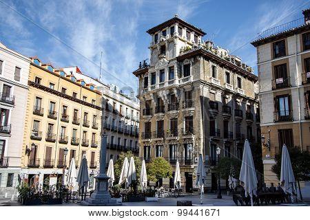 Plaza de Ramales, Madrid, Spain