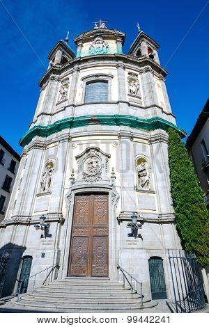 St. Michael's Basilica Roman Catholic church, Madrid, Spain