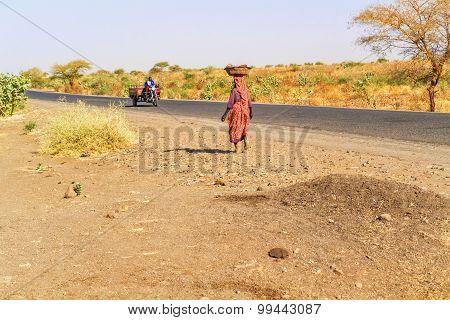Road In Sudan