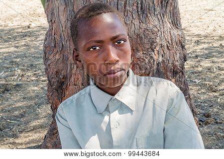 Young Boy In Sudan