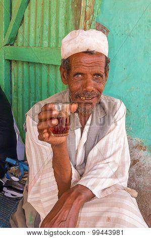 Man In El Suki , Sudan.
