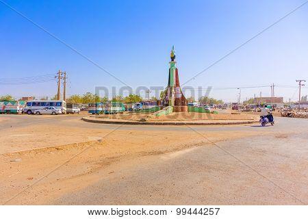 Road Intersection In Sudan
