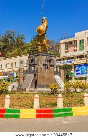 Emperor Tewodros Monument.
