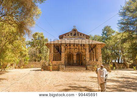 Debre Birhan Selassie Church In Gondar, Ethiopia